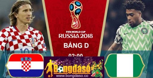 Nhận định, soi kèo Croatia vs Nigeria