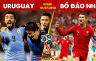 Soi kèo Uruguay vs Bồ Đào Nha 1h00 ngày 01/07 World Cup 2018
