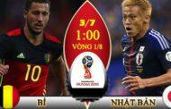 Nhận định Bỉ vs Nhật Bản, 01h00 ngày 03/7: Vòng 1/8