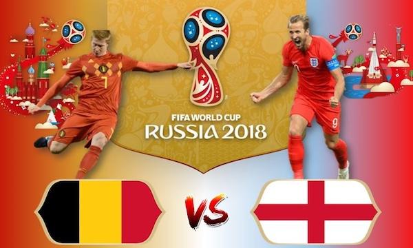 Nhận định Bỉ vs Anh (21h00 ngày 14/7) World Cup 2018