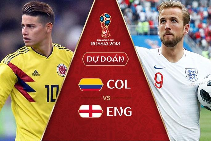 Nhận định Colombia vs Anh 01h00 ngày 4/7