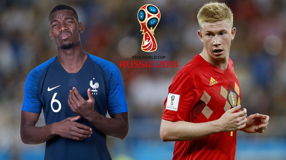 Nhận định Pháp vs Bỉ, 01h00 ngày 11/07/2018