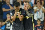 Ronaldo bật khóc ngay trong trận đấu đầu tiên tại Champions League ở Juventus