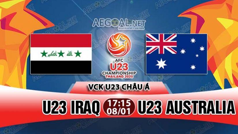 Trận hòa kịch tính giữa U23 Australia và Iraq !!